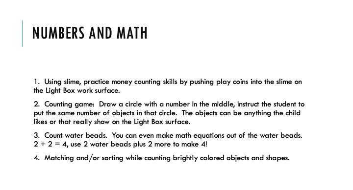 Numbers and Math